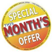 This Month's Special Offer